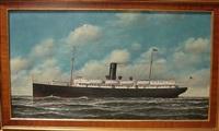 ocean liner, tampa by carl ferdinand jacobsen