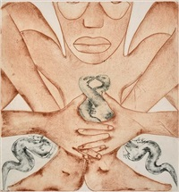 south (from the geography series) by francesco clemente