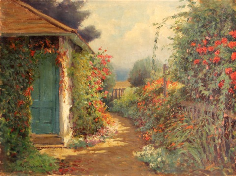 path by the garden by william adam