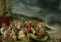 die israeliten nach dem durchzug durch das rote meer by hieronymus francken iii