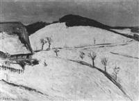 winterlandschaft by vladimir zabotin