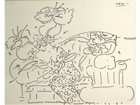 untitled (2 works) by peter max