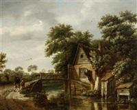 kanallandschaft by salomon rombouts
