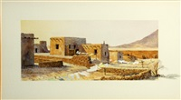 pueblo washday by david allen halbach