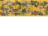tale of genji by japanese school-tosa (19)