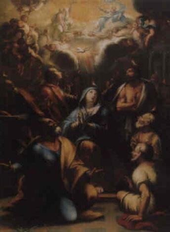 die ausgießung des heiligen geistes by alessandro marchesini