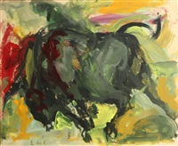 untitled (juarez series) by elaine de kooning