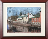 raritan canal - lambertville, nj by tom linker