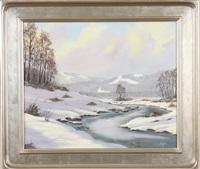 winter splendor - vermont by tom linker