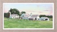 paxton farm - bucks county, pennsylvania by tom linker