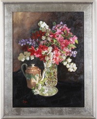 spring bouquet by tom linker