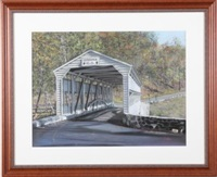 knox bridge - valley forge by tom linker