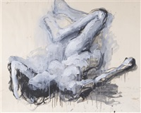 reclining iii by john graham coughtry