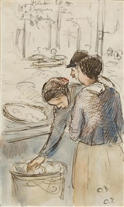 artwork by camille pissarro