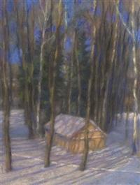 winterwald by nicolai chrustatschow