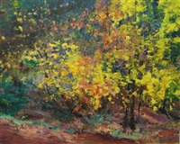 forest interior by louis b. sloan
