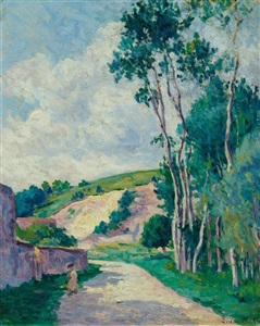 artwork by maximilien luce