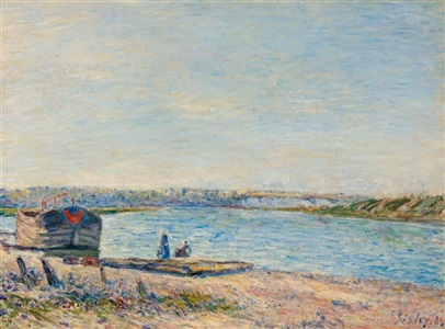 artwork by alfred sisley
