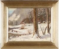 winter retreat by tom linker