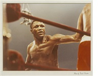 joe frazier - muhammad ali boxing match by frank sinatra