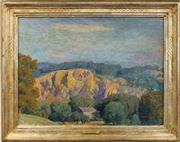 quarry & clouds by daniel garber