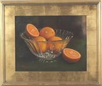 oranges in crystal by tom linker
