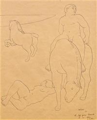 figurenkomposition by fernando botero