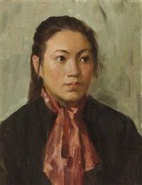 portrait by liu guoshu