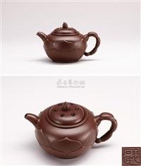 lotus teapot by pei shimin