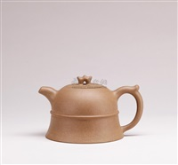 duanni bell shaped teapot by pei shimin