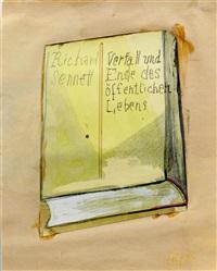 richard sennett (verfall und ende des öffentlichen lebens) by martin kippenberger