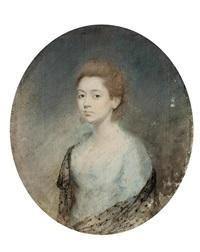 porträt einer jungen frau aus gutem haus: miss d.h. corbie of clifton by thomas lawrence