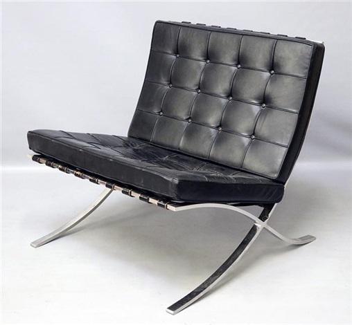 Sessel Mr 90 Barcelona Chair Von Ludwig Mies Van Der Rohe Auf Artnet