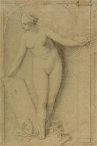 allegorie der malerei by louis raoux