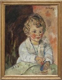 kinderportrait by leo von könig