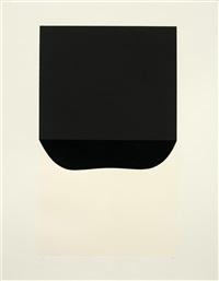 bianchi e neri ii (portfolio of 6) by alberto burri