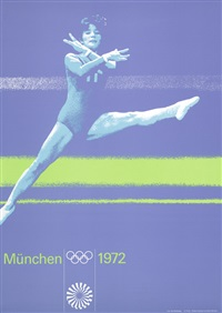 münchen 1972 (set of 5) by franz mühlberger and otl aicher