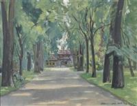 Maurice mathey artnet for Jardin anglais neuchatel