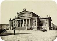 schauspielhaus berlin am gendarmenmarkt by leopold ahrendts