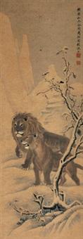 双狮 by ma dai