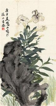 牵牛花 by xue huishan