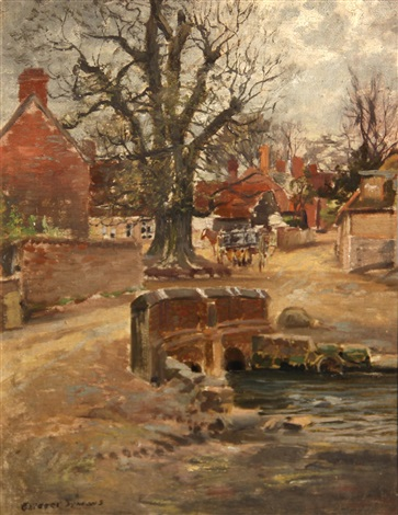 english village by george gardner symons