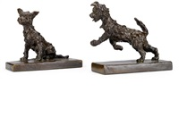 puppies (2 works) by edith barretto stevens parsons