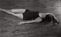gymnastic exercises (4 works) by ilse bing