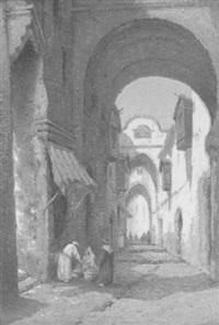 a street in tunis by robert herdman smith