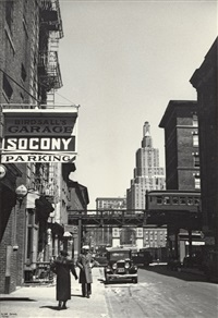 new york street scene by ilse bing