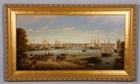 boston harbor from charlestown by brian coole