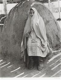 alte indianerfrau by peter gasser