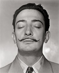 salvador dali, new york by horst p. horst