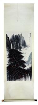 scroll painting by li xiongcai